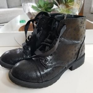 Black ankle boots size 1 great condition
